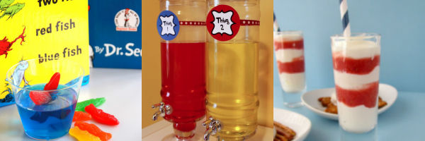 Dr Seuss Baby Shower Drinks