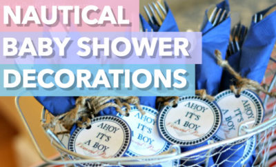 Best Nautical Baby Shower Decorations